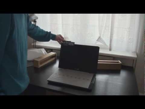 Asus G75VX Unboxing 1080p HD