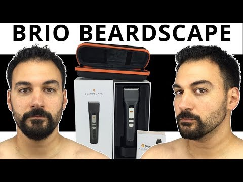 Beard Trimming – Brio Beardscape Trimmer Review