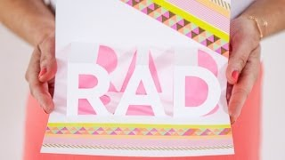How to Make a RAD Pop-Up Card!