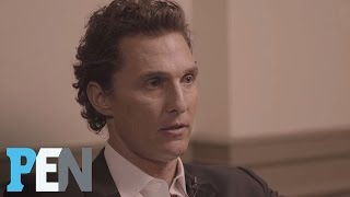 Matthew McConaughey On Career Reinventions & Building A Family | PEN | People