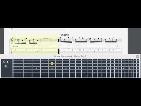 Last Child - Diary Depresiku Acoustic Tab Perview