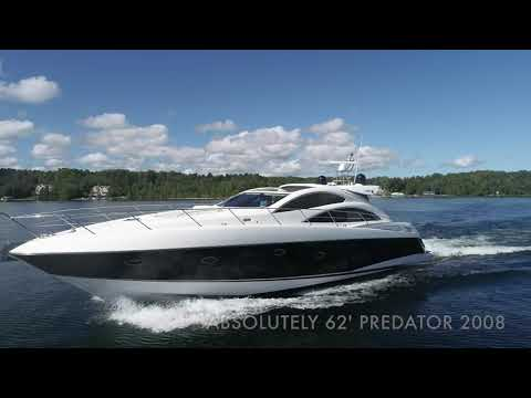 Sunseeker 62 Predator video