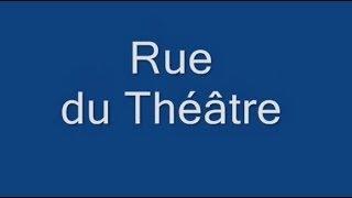 Rue du Théâtre Paris Arrondissement  15e