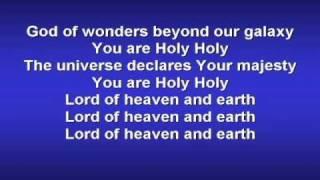 God of Wonders (worship video w/ lyrics)