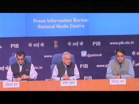 Press Conference by NITI Aayog