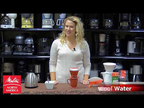 How To Make A Perfect Cup Of Coffee. Melitta Pour-Over Demo Video.