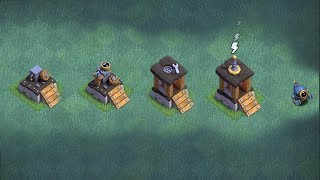 """ALL LEVELS PUSH to O.T.T.O BOT!! """"Clash Of Clans"""" 6TH BUILDER!!!"""