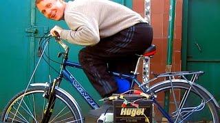 ✅Генератор своими руками на 220 вольт. DIY Bike Generator