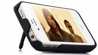 """Чехол аккумулятор для iPhone 4/4S (2300 mAч литий ионный) белый от компании Компания """"TECHNOVA"""" - видео"""