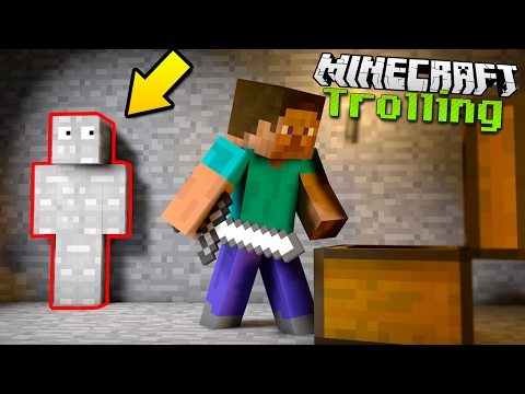 The EASIEST Ways for TROLLING in Minecraft!
