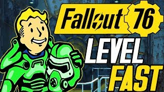 FALLOUT 76 FASTEST WAY TO LEVEL UP | FALLOUT 76 FAST XP | FALLOUT 76 XP FARM