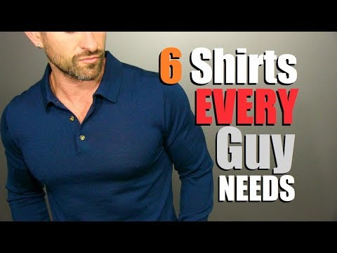 6 Long Sleeve Shirts EVERY Guy NEEDS In His Wardrobe! (Men's Style Essentials)