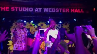 Tyler The Creator Surprise NYC show - 911 live ft Frank Ocean Webster Hall 8/3/17
