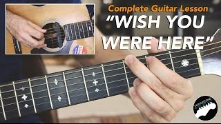 """Pink Floyd """"Wish You Were Here"""" Complete Guitar Lesson"""