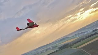 Lidl Glider - FPV Nazgul5 Air to Air Newflidl - Lidl Segelflieger