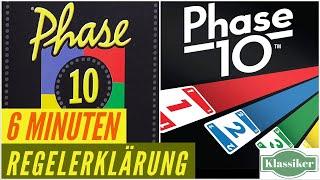 Phase 10 - Regeln - Aufbau - Anleitung - Regelerklärung - Kartenspiel
