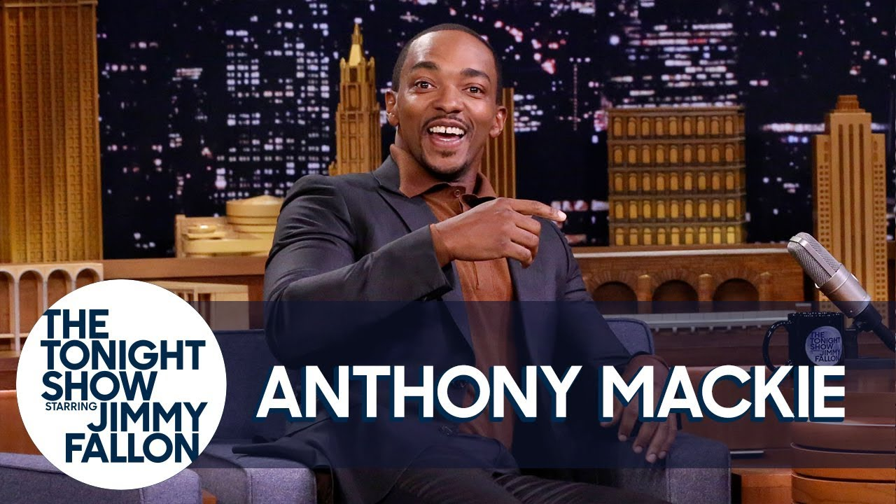 Anthony Mackie's First Time Smoking Weed Got Him Chased by a Moose thumbnail