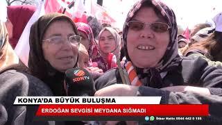Erdoğan sevgisi meydana sığmadı
