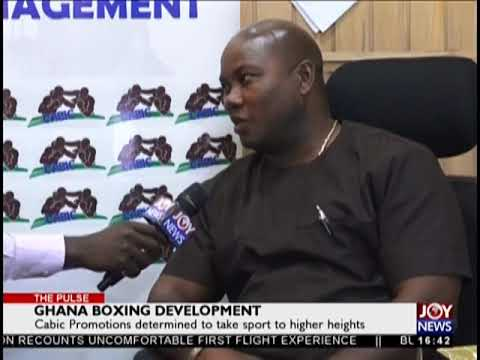 Ghana Boxing Development – The Pulse Sports on JoyNews (22-1-19)
