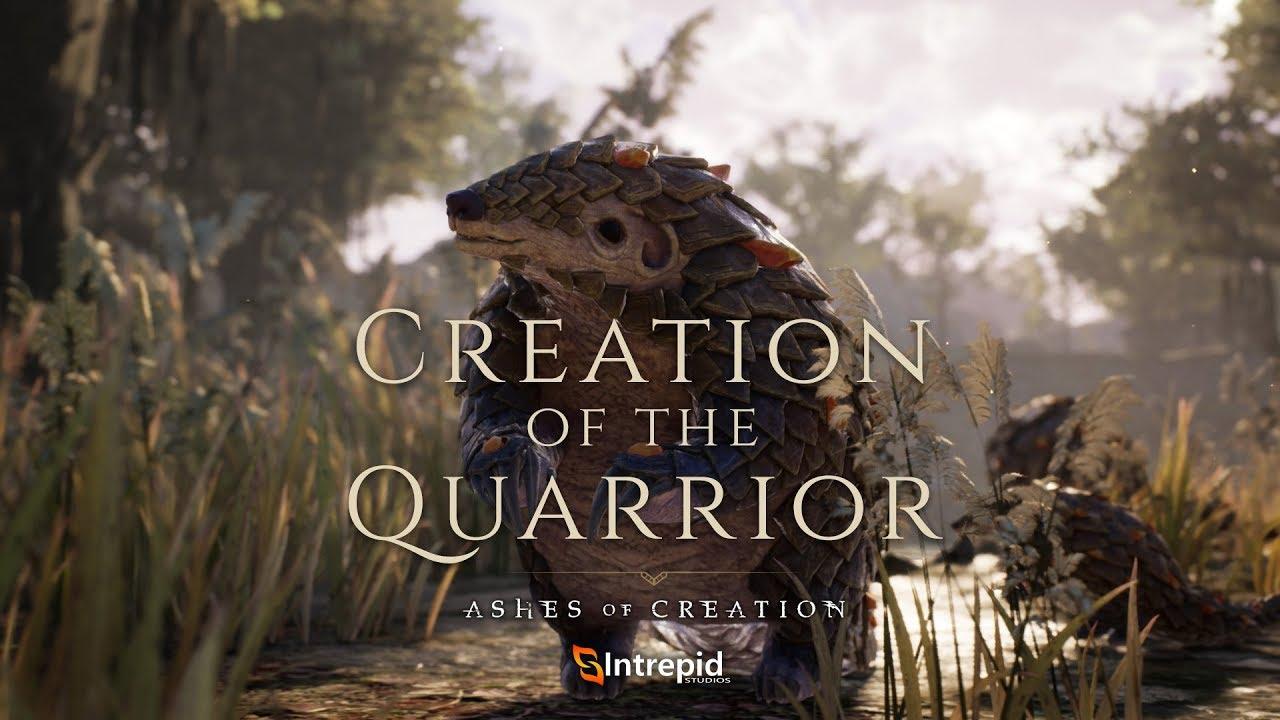 Mostrato il Quarrior, una delle creature di Ashes of Creation