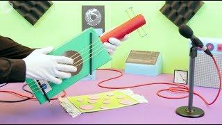 Cara Mudah Membuat Gitar Mainan untuk Anak