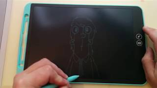 NEWYES LCD Writing/Drawing Tablet - with a twist!