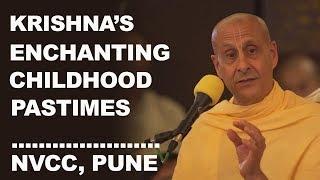 Childhood Pastimes Of Lord Krishna | Radhanath Swami | Pune 2017
