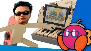 All Star but it's played on the Nintendo Labo Piano in a mediocre fashion
