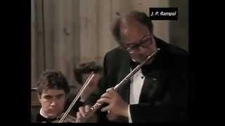 Jean Pierre RAMPAL plays STAMITZ, Concert LIVE 1993