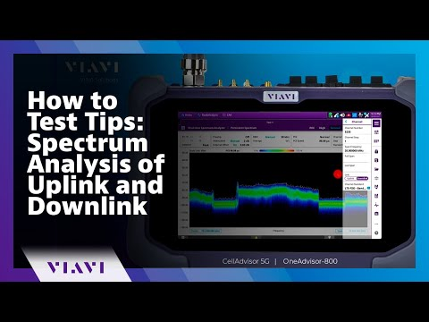 Video: VIAVI OneAdvisor-800 - 5G/LTE/FTTX & More