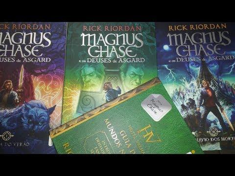 Resenha: Magnus Chase e os Deuses de Asgard - Rick Riordan