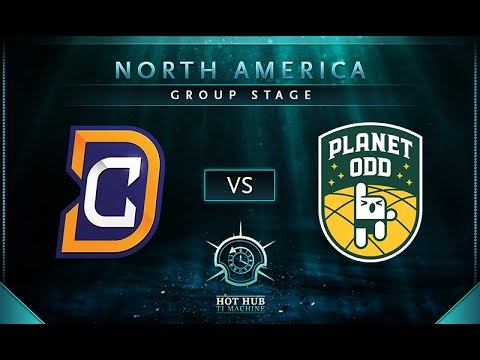 DC vs Planet Odd - TI7: NA Regional Qualifiers Group Stage - @Charlie @KBBQ