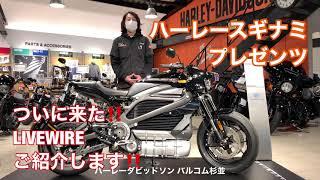 ついに来た!! ハーレー初の電動バイク『LIVEWIRE』店頭展示会 !!