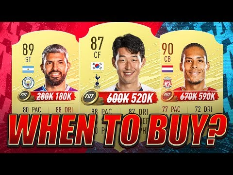 LOWEST MARKET POINT! WHEN TO BUY? FIFA 20