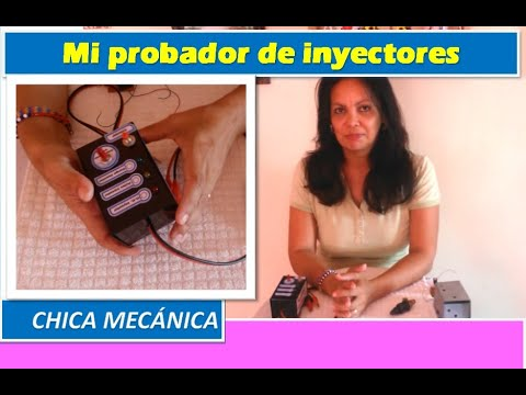 Probador de inyectores - Equipo de Chica Mecánica