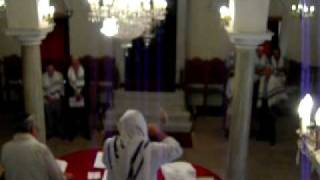 Rosh Hashanah - Shofar blowing (30 tekiot) at the Synagogue of Chalkis, Greece