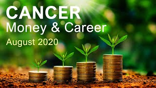 "CANCER MONEY AND CAREER - AUGUST 2020 ""GETTING THE RECOGNITION YOU DESERVE CANCER! Tarot Forecast"
