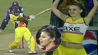 Tamil Actors Vishnu Vishal and Vikrant of Chennai Rhinos Dominates With Boundaries Vs Bengal Tigers
