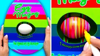 HOW TO COLOR EASTER EGGS AND CUTE GIFTS