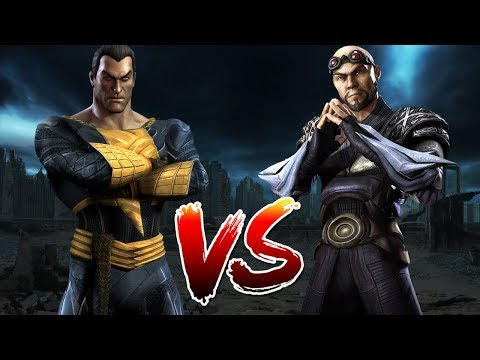 Black Adam VS General Zod | Who Wins?