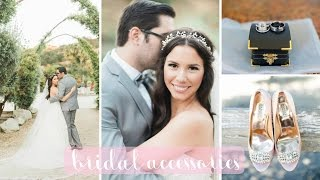 My Bridal Accessories: Veil, Dress, Shoes, Jewelry, Headpiece | Hayley Paige