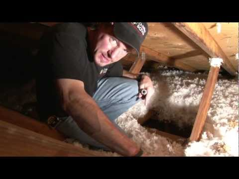 Homeowners across the U.S. tend to mistakenly believe that proper attic insulation is only adequate in the cold regions of the country, to maintains the home's heat. Larry Janesky, founder of Dr. Energy Saver explains that insulation is also needed in warmer areas. Insulation prevents heat transfer. It prevents hot air from being transferred to the outside in the wintertime, and prevents the attic's scorching heat from being transferred into the living areas of your home during the summer. In doing so, you are considerably relieving the burden on your air conditioner systems. Furthermore, Larry explains why insulation without proper air sealing won't help you save much energy. When a home is built, there are a lot of holes left on the building envelope around pipes, wiring, recessed lights, duct chases, etc. All these holes will allow conditioned air -- that you paid to heat or cool -- to leak out of the house, and unconditioned air from the outside to enter the home. As a result, your HVAC system will work much harder to keep up with the air exchange, significantly increasing your heating or cooling bills. Because the energy loss through the typical attic can be enormous, a properly air sealed and insulated attic becomes the main component of a truly green and energy efficient home, and it is our main priority at Dr. Energy Saver. If you would like to learn more about saving energy through energy efficient attics and many other ways to save money and energy, visit our website or call us for a comprehensive home energy audit!