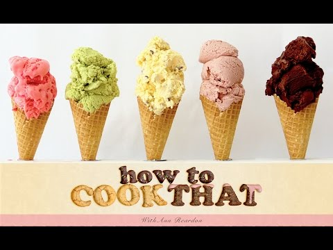 Video Ice Cream Recipes HOW TO COOK THAT Ann Reardon starburst chocolate