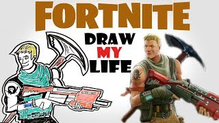 Fortnite : Draw My Life, is a complete story of the game Fortnite , from its initial announcement at 2011 to its massive success at 2017, from Fortnite taking over Twitch to Drake playing Fortnite , this video covers it all if you want to know more about the game check out ,Fortnite : Draw My Life