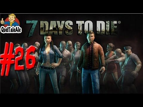 7 Days To Die - Gameplay ITA - Let's Play #26 - Rimpinguiamo l'armamentario