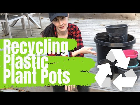 Recycling Plastic Plant Pots – Gardening Tips – Mary Jane Duford | Home for the Harvest