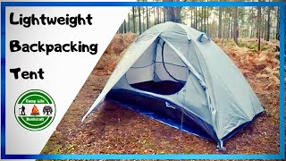 One Man Budget Backpacking Tent with 3 set up options | Bessport lightweight backpacking tent