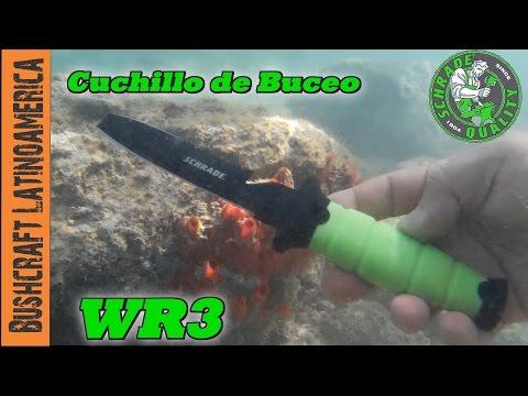 Cuchillo de Buceo Schrade WR3