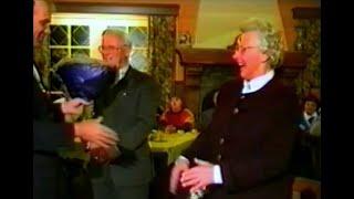 Zilveren legspeld voor Johan Scheutjens, 1993