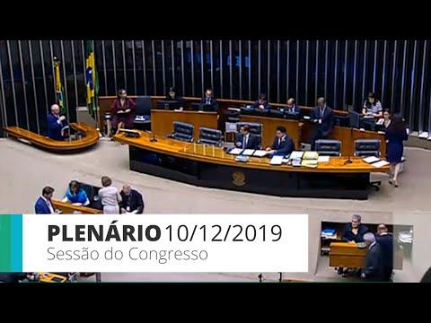 Congresso Nacional - Votação do PLN nº 51/19 - altera Lei Orçamentária de 2020 -  10/12/19 - 14:24